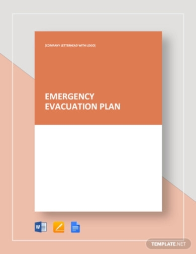 emergency evacuation plan template