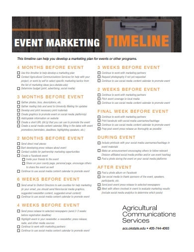 event marketing timeline1