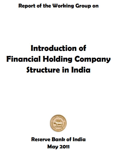 financial holding company structure