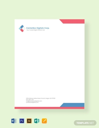 Free 18 Company Letterhead Examples Templates Examples