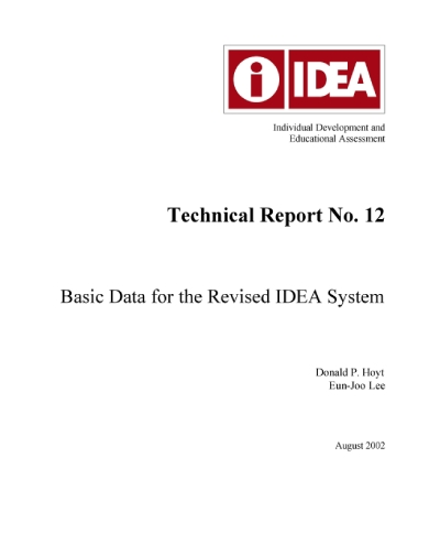 idea technical report