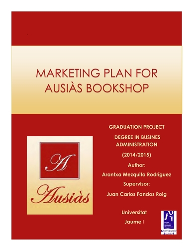 in depth marketing plan for small bookshops