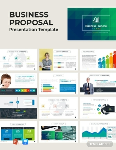 infographic business proposal