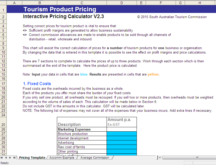 interactive product cost
