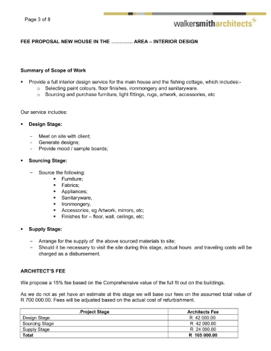 interior designer interior design invoice templates