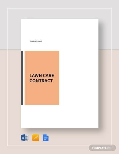 lawn care contract