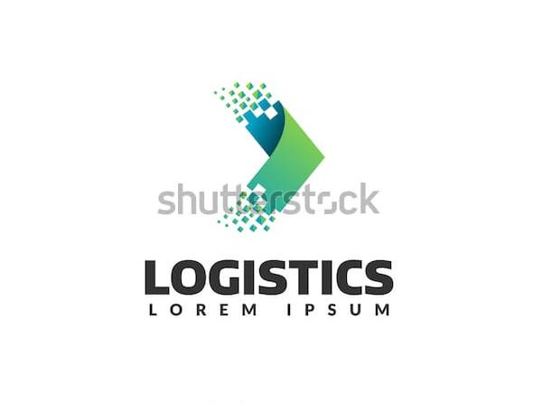 logistic company vector logo