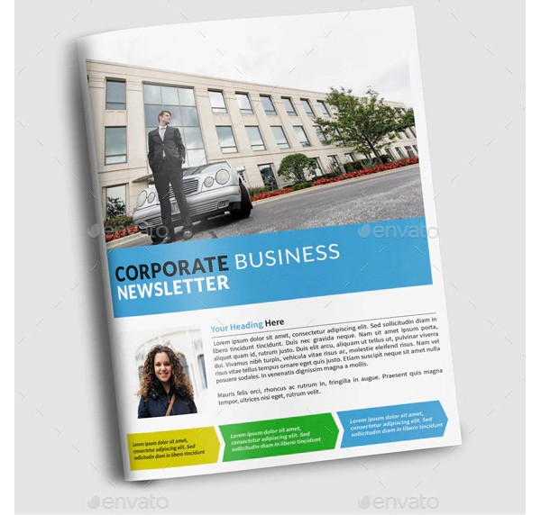 multipurpose company newsletter