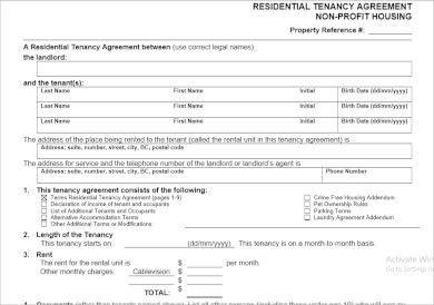 printable residential investment agreement