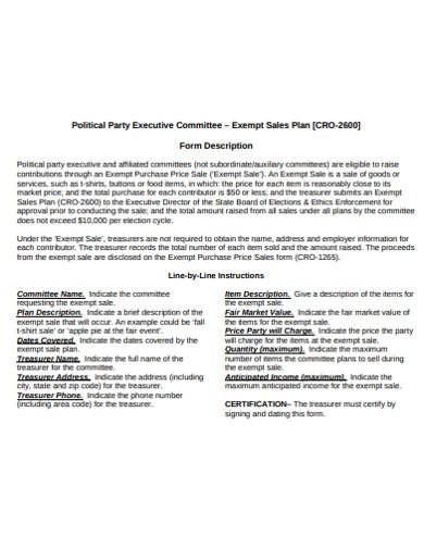 printable sales plan