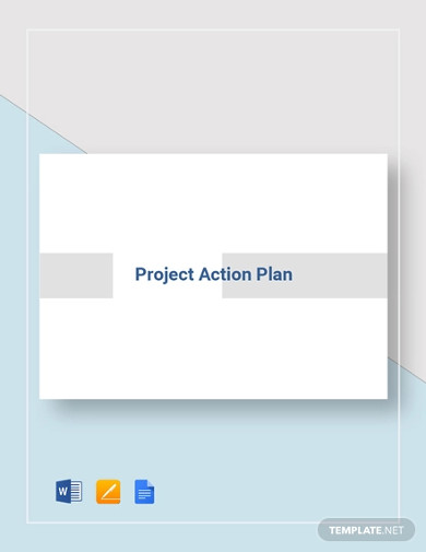 project action plan template
