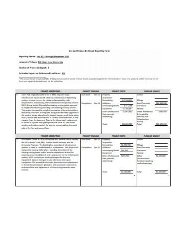 project description and timeline