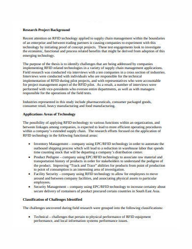 project executive summary in pdf