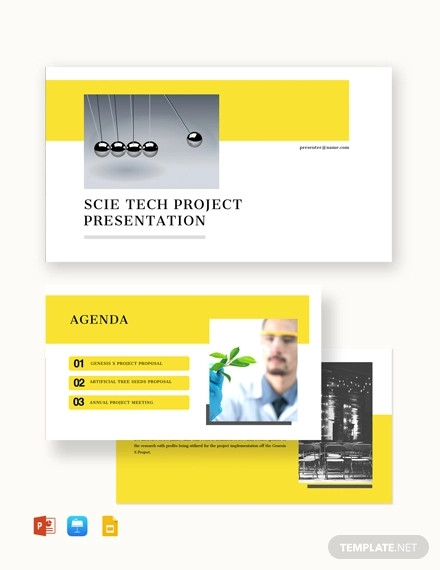 project proposal presentation template