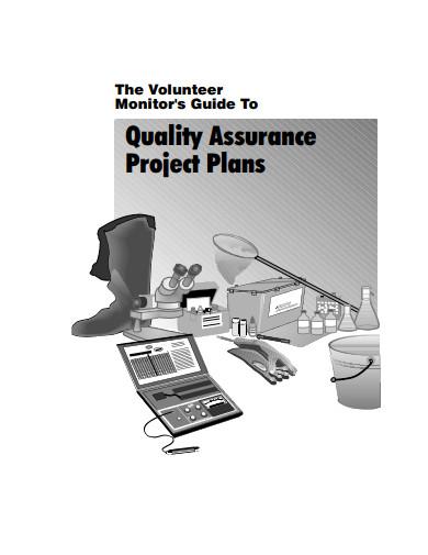 project quality assurance plans