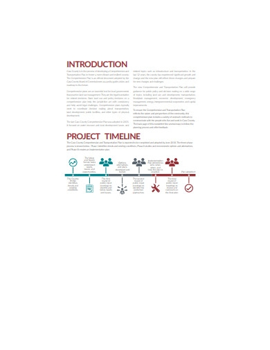 project timeline plan in pdf