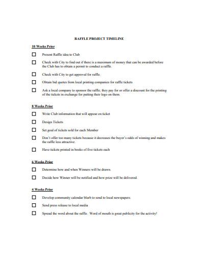 project timeline in pdf