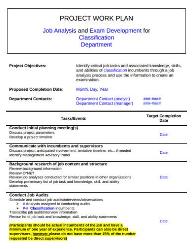 project work plan in pdf
