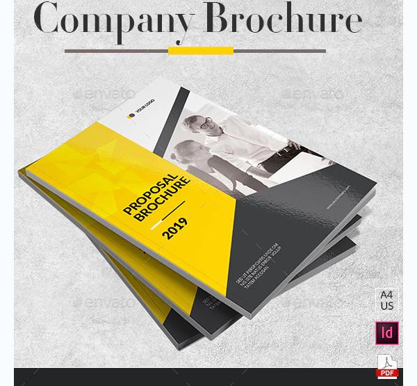 proposal company brochure