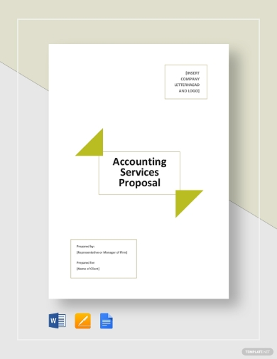 proposal for accounting services