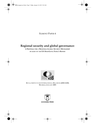 regional security proposal