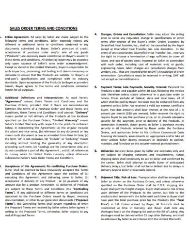 sales order in pdf