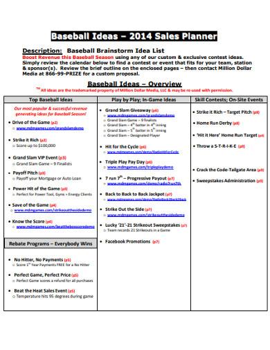 sales planner in pdf
