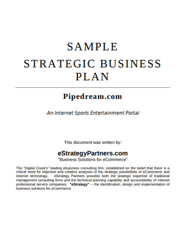 sample business consulting templates