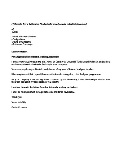 sample company reference letter