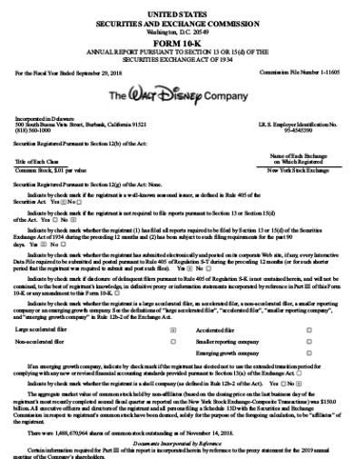 sample financial company statement