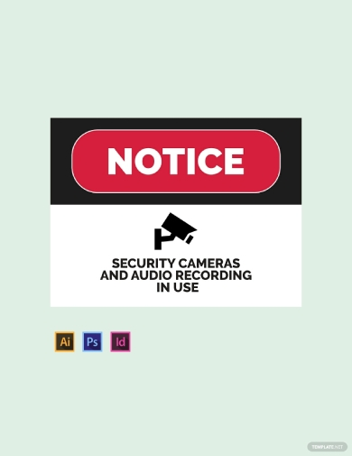 security sign