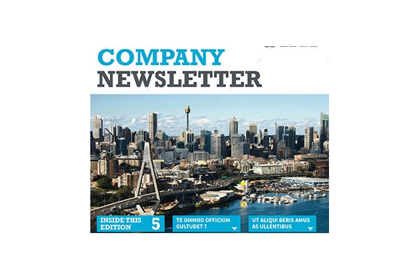 simple company newsletter