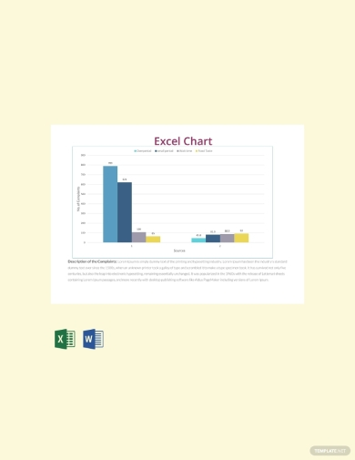 simple excel chart