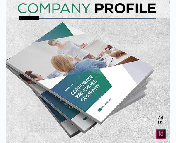 stylish company brochure
