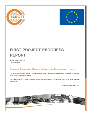 target first project progress report