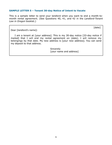 Free 9 Tenant Move Out Letter Examples Download Now Ms
