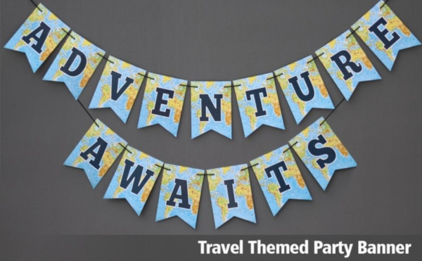 travel adventure banner
