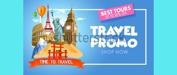 travel agency promo banner
