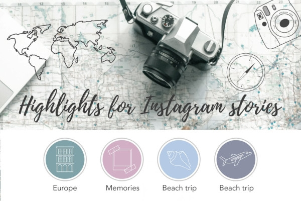 travel instagram stories highlights