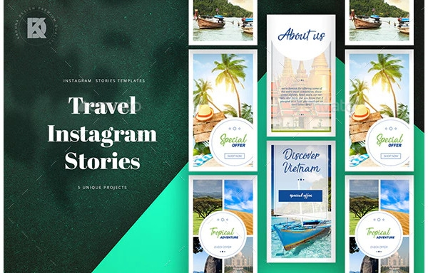FREE 6+ Travel Instagram Story Examples & Templates