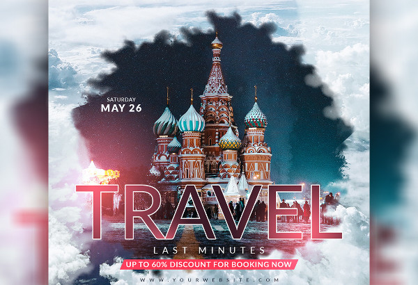 travel social media design