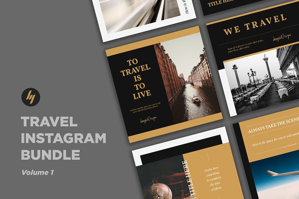 travel social media example