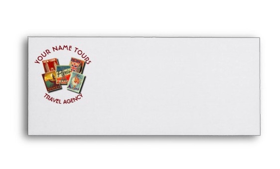 Travel Tours Agency Envelope