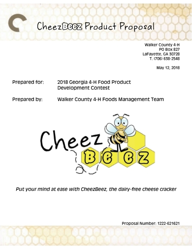 vegan cheese crackers product proposal