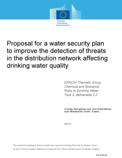 water security plan proposal