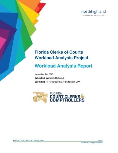 workload analysis report