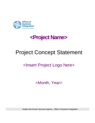 agency project business concept statement