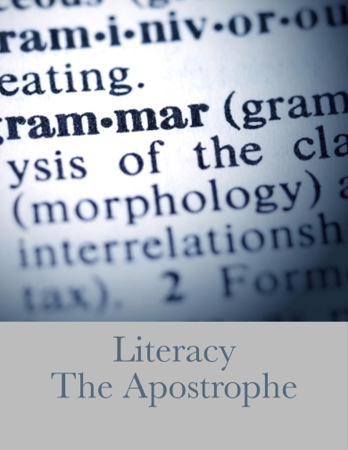 apostrophe in poem guidelines example