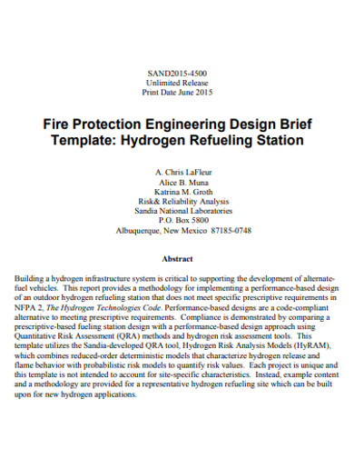 basic design brief