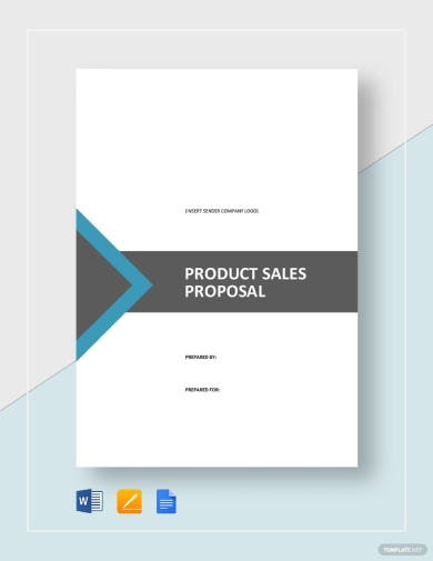 basic product sales proposal
